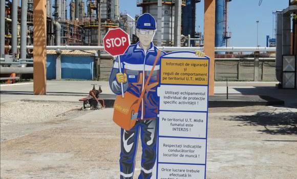 Indicatoare securitatea muncii si circulatie